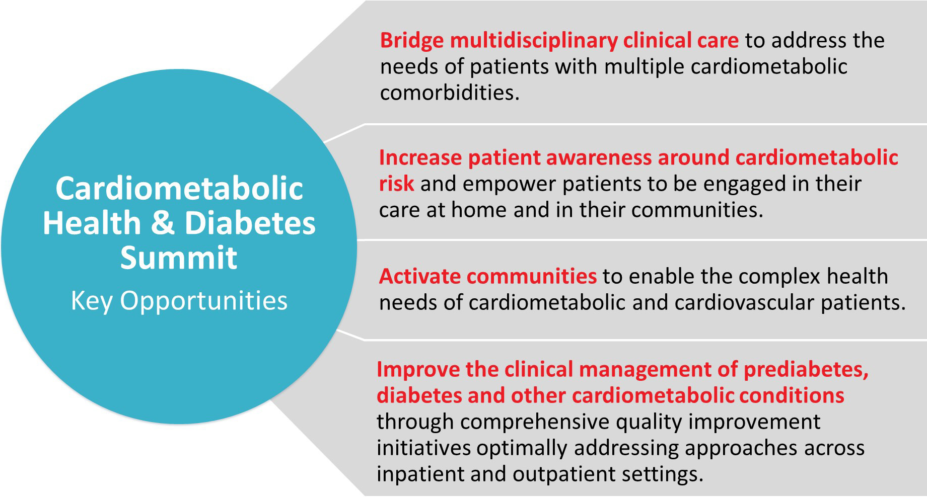 American Heart Association Diabetes and Cardiometabolic Health Summit:  Summary and Recommendations | Journal of the American Heart Association