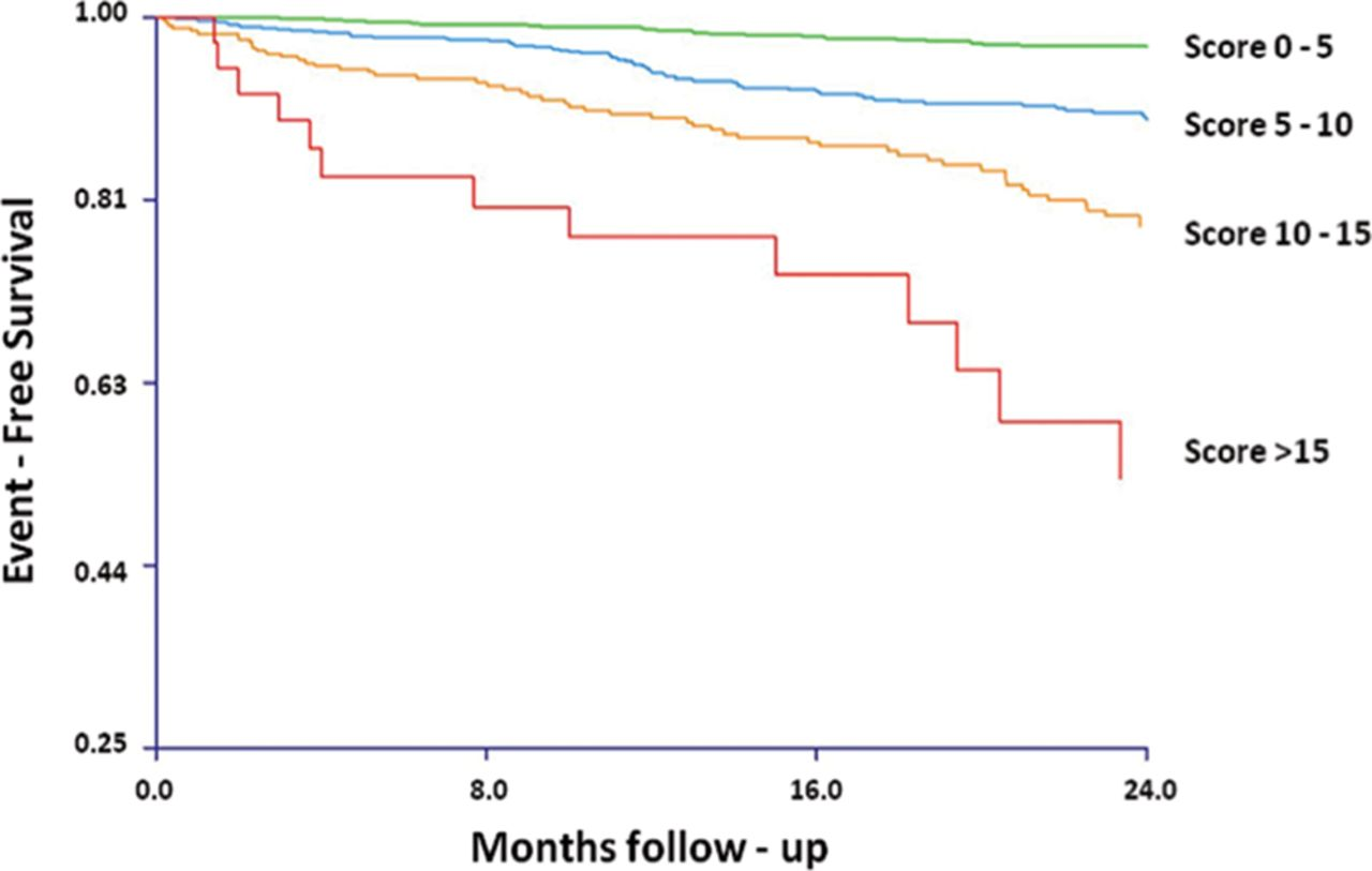 Validation of a Cardiopulmonary Exercise Test Score in Heart Failure