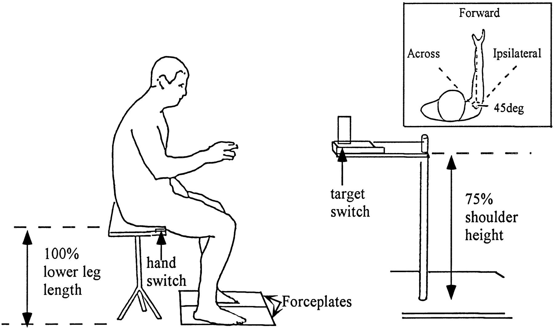 Task-Related Training Improves Performance of Seated