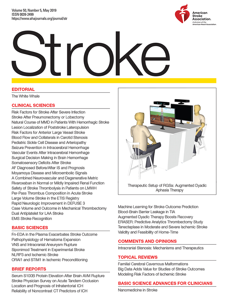 Surgical Decision Making in Brain Hemorrhage | Stroke