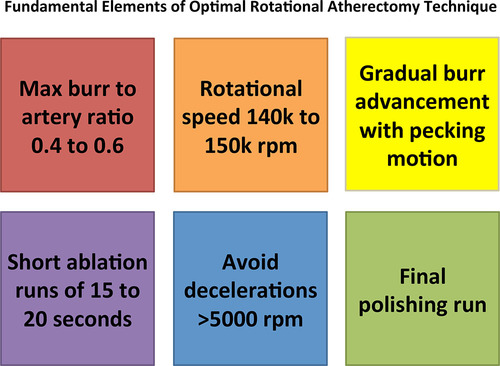 North American Expert Review of Rotational Atherectomy
