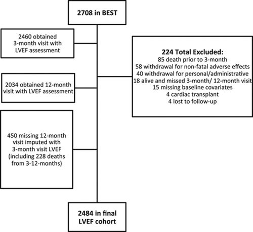 Changes in Left Ventricular Ejection Fraction Predict