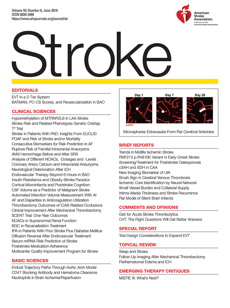 Sleep and Stroke | Stroke
