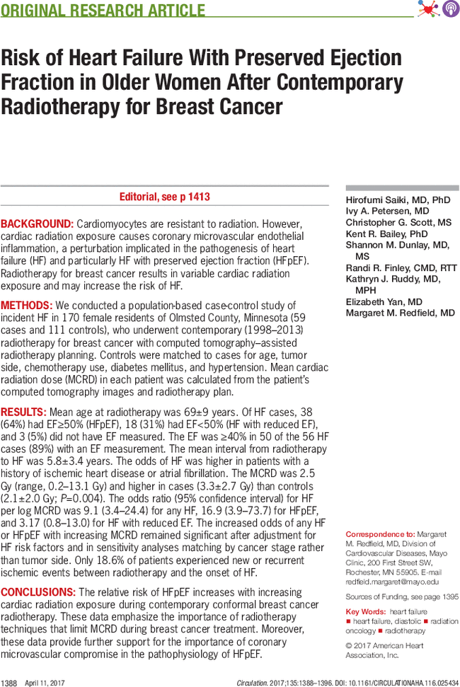 959fb400d Risk of Heart Failure With Preserved Ejection Fraction in Older ...