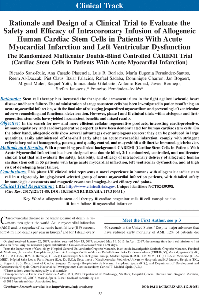 Rationale and Design of a Clinical Trial to Evaluate the