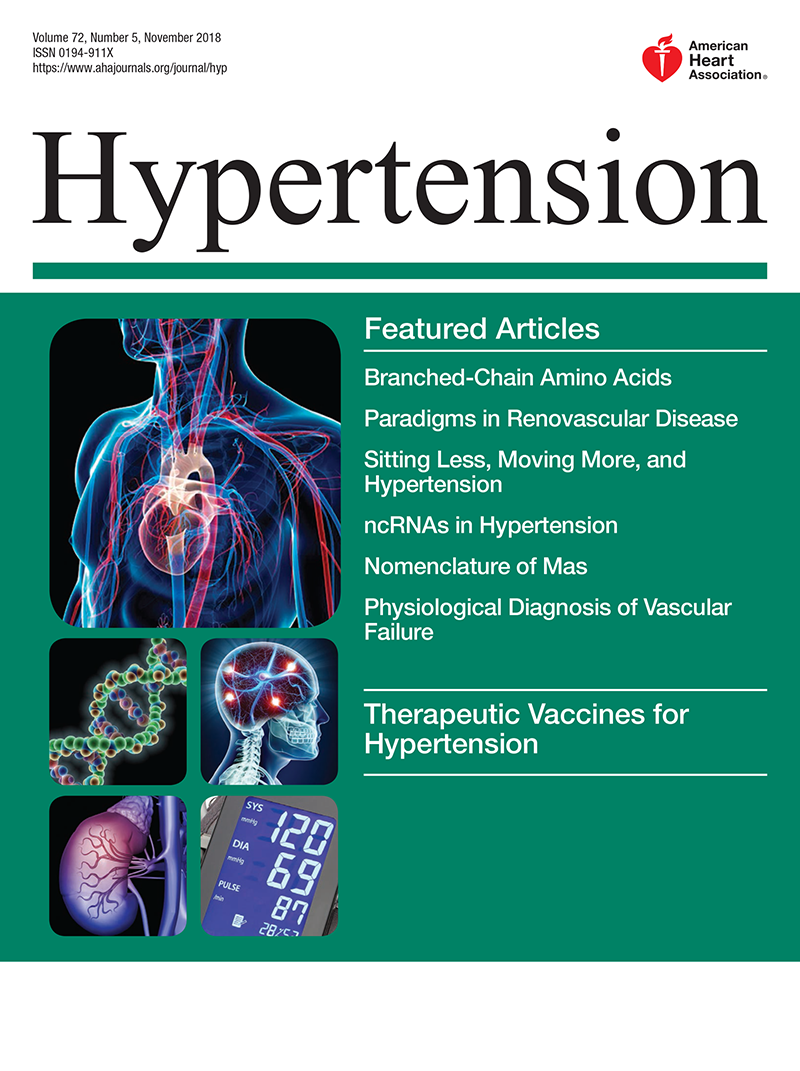 Resistant Hypertension: Detection, Evaluation, and Management: A