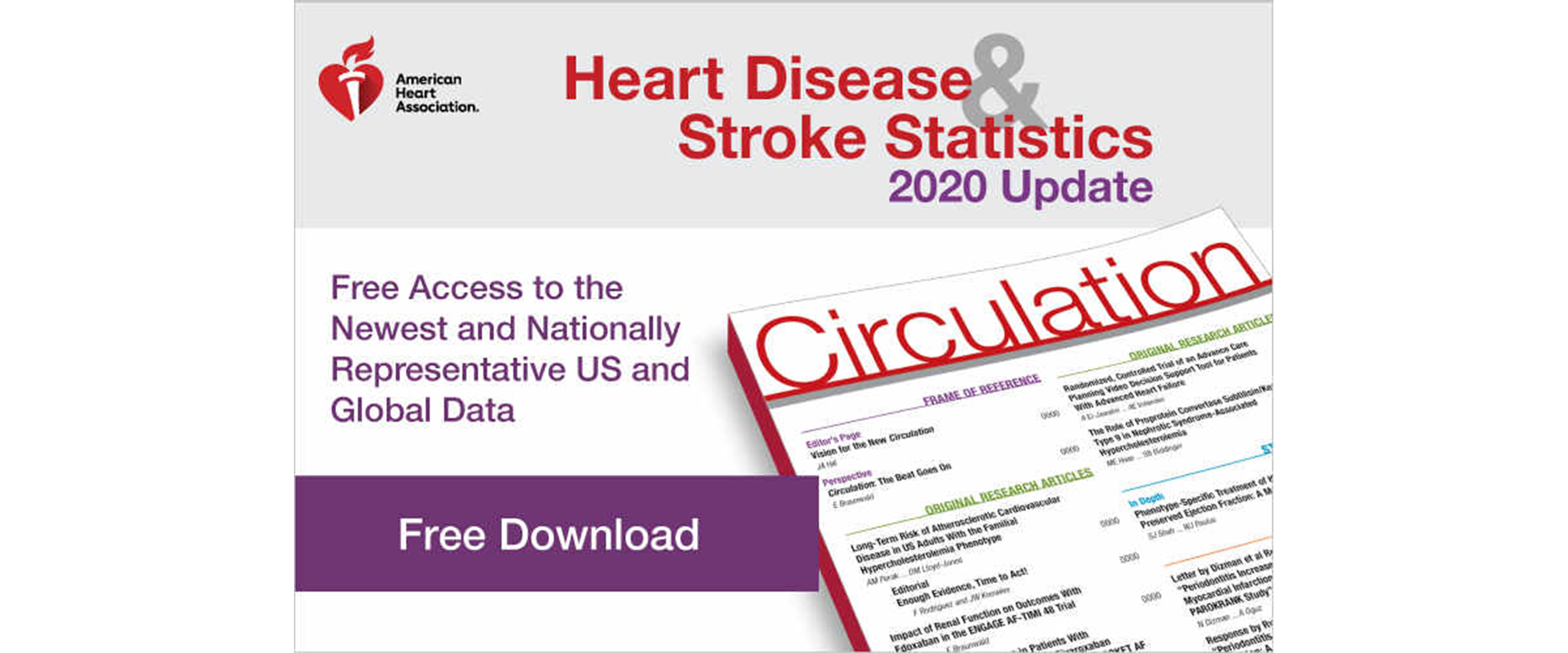 Heart Disease And Stroke Statistics 2020 Update A Report From The American Heart Association Circulation