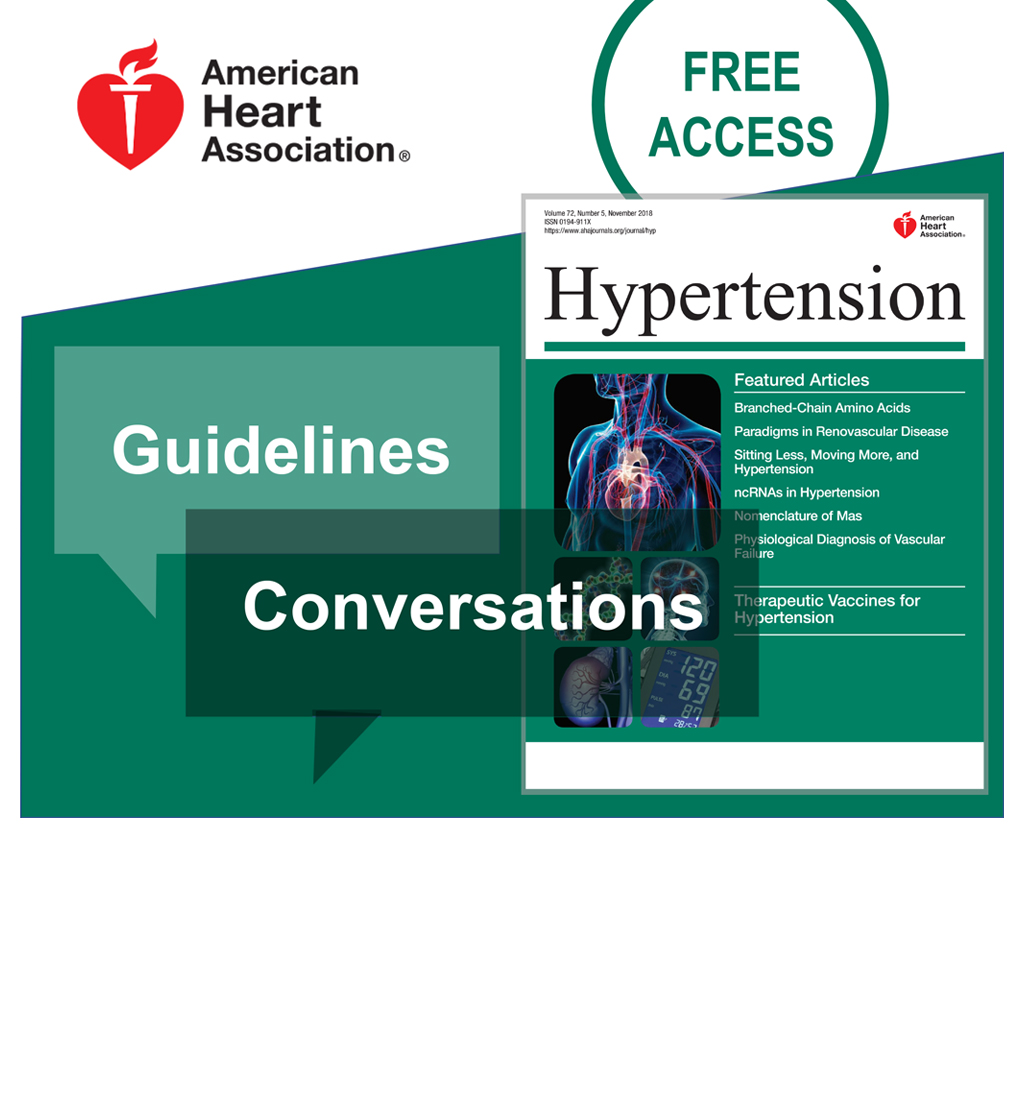american heart association blood pressure guidelines
