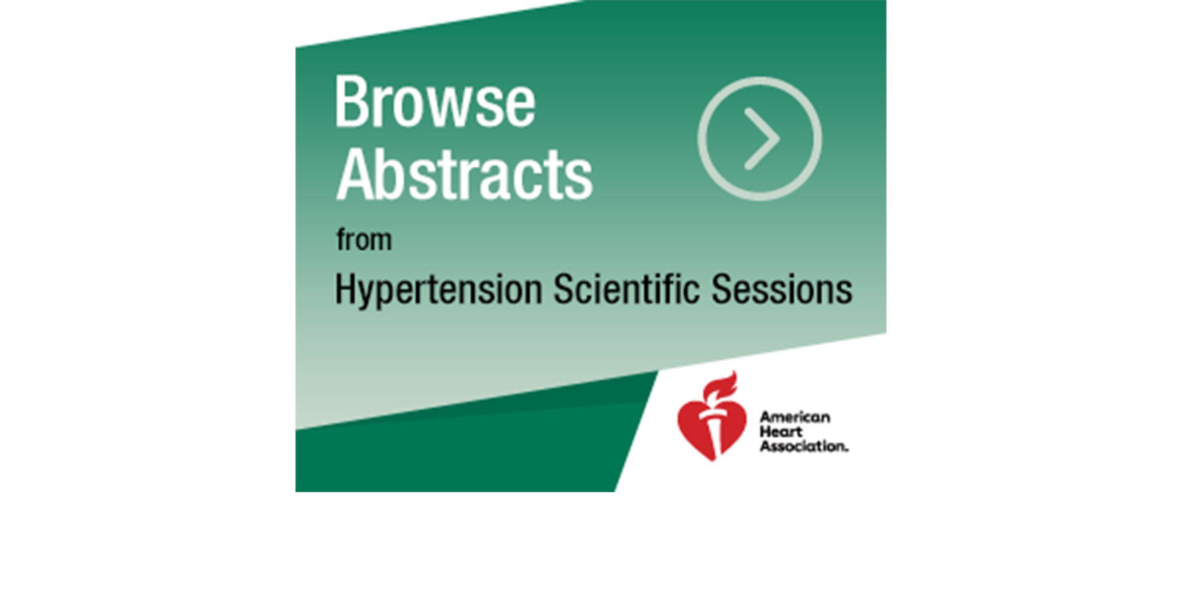 hypertension journal american heart association
